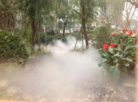 水云间人造雾系统 公园景区喷雾造景