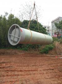 玻璃�生活污水提升泵站
