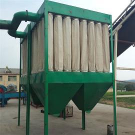 中央布袋除尘器系统家具厂木工房单机工业环保设备脉冲收吸仓顶
