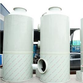 PP喷淋塔碳钢净化塔废气处理设备水淋塔酸雾洗涤塔工业废气吸附