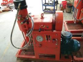 科工WSS-350坑道钻机设备,二重管无收缩双液WSS工法注浆