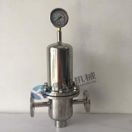 伟亚牌ZQ不锈钢卫生级蒸汽过滤器