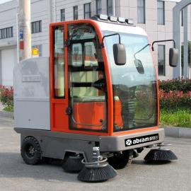 亚伯兰abram扫地车YBL-2000驾驶工厂园区道路清扫车