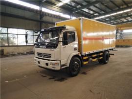 东风D7大多利卡易燃液体运输车,三类危险品运输车