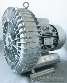 大风量4.3kw单涡轮高压风机 玻璃清洗机高压风机 RT-H7343BS