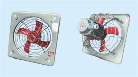 BFAG-300工业通风换气扇功率0.12kw防爆排风扇 带百叶窗