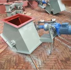 安创定制 电液动扇形三通分料器 进料口三通翻板阀 Y型换向阀