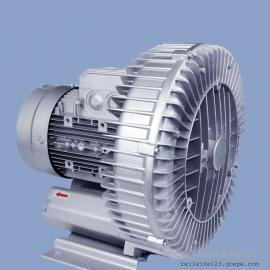 4kw单涡轮大风量高压风机 包装贴标喷码吹水漩涡风机RT-H734BS
