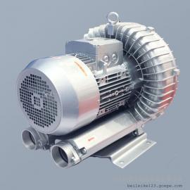 单叶轮1.1kw高压风机 饮料瓶啤酒瓶吹干 RT-H4111BS旋涡气泵