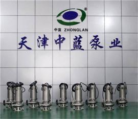 全不锈钢精密铸造污水污物潜水电泵WQ250-15-18.5S样本参数