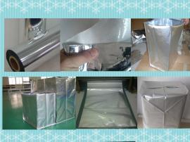 铝塑膜卷材镀铝编织膜铝塑膜卷镀铝编织布真空膜