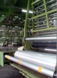 铝膜纸编织膜镀铝膜复合编制布铝箔编织膜2米宽