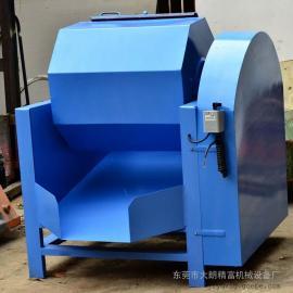 六角PU胶滚筒式研磨抛光机