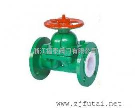 G41F46衬氟隔膜阀/防腐隔膜阀