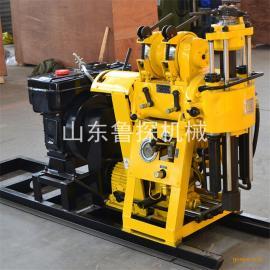 鲁探机械地质勘探钻机HZ-130Y液压岩心钻机 速度快