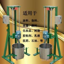 电动升降分散机 小型实验室搅拌机 工业胶水分散机