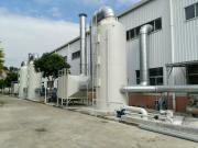 梧州喷漆房废气净化工程