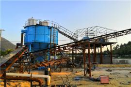 时产500吨石子生产线工艺流程
