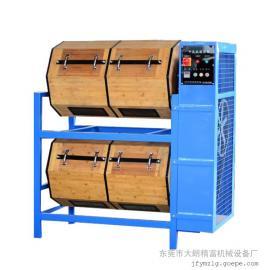 工厂定制异型600L多层干式竹制滚筒抛光机不锈钢镜面效果滚光机