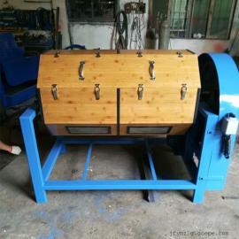 干抛机镜面效果干滚机300L干式木滚筒研磨机滚光机