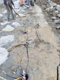 竖井开挖破除岩石机器液压劈裂机
