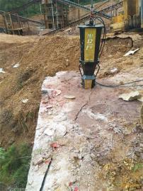 隧道岩石开凿掘进小型液压劈裂机
