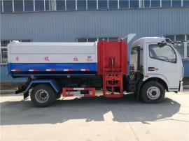 东风大多利卡(D7)8方挂桶侧装式垃圾车报价及优势