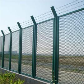 火车站护栏网|热浸锌防爬倒刺|高铁护栏现货