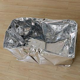 大型机械设备用编织布镀铝膜真空包装防潮防锈包装袋