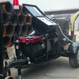 筑路养护路面裂缝修补专用威特WGF-100沥青灌缝机