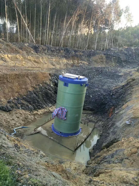 宏利恒一体化污水提升泵站