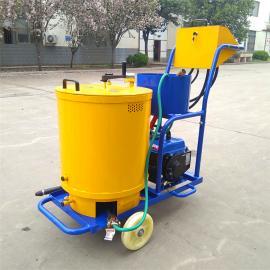 路面沥青灌缝机沥青路面灌缝车 小型手扶式60L灌缝机