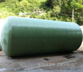 200m3玻璃钢化粪池生活小区专用化粪池防渗漏