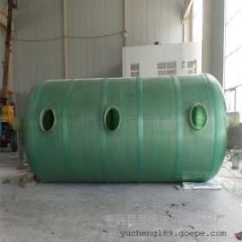 家用厕改小型玻璃钢化粪池66m3环保化粪池