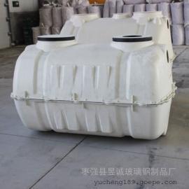 永不渗漏模压化粪池环保型玻璃钢整体化粪池可根据要求定制