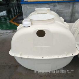 2立方新农村家用厕所改造三格化粪池 三级净化小型模压化粪池