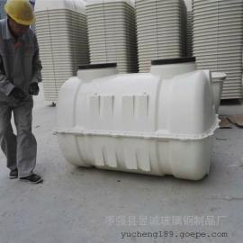 赫章玻璃钢化粪池 3立方模压化粪池家用小型