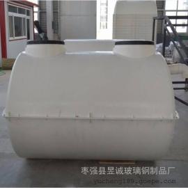 涉县家用三格化粪池 1.5m3小型化粪池 玻璃钢化粪池高效环保