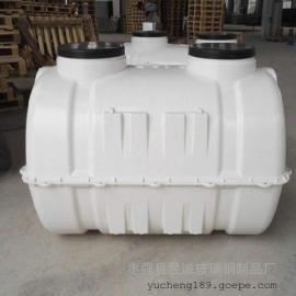 成安玻璃钢模压化粪池 三格式小型家用化粪池 玻璃钢化粪池保养