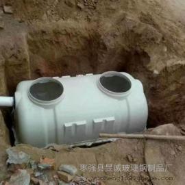 资讯:成品三格式化粪池 1立方家用农村旱厕改造化粪池