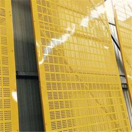 【爬架网】工地施工爬架钢板网 建筑外墙防护金属网