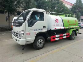 5方绿化喷洒车运水车5吨福田洒水车