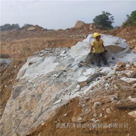 高效岩石解体设备开山机
