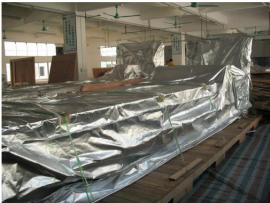 机械出口防潮防锈铝箔编织立体袋生产