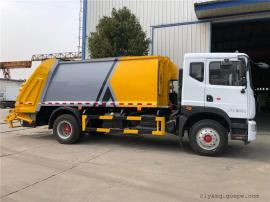 8方环卫压缩垃圾车-5吨小型压缩垃圾车