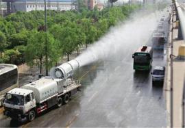 东风天锦国五雾炮车 可菜园打药的洒水抑尘车