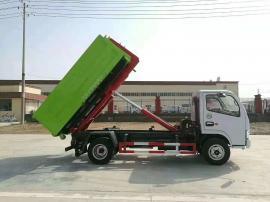 东风多利卡8方勾臂垃圾车