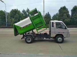 农村城镇垃圾箱转运3-6方钩臂垃圾车 小型勾臂垃圾车
