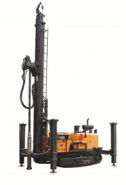 开山600米地热水井钻机 3125空压机配套 KW600国三动力