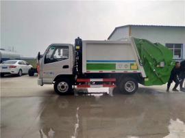 东风国五5立方压缩型垃圾车 垃圾运输车市 政用车
